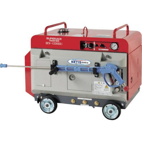 【ポイント10倍】スーパー工業 エンジン式 高圧洗浄機 SEV-1230SSi(防音型) SEV-1230SSI 【DIY 工具 TRUSCO トラスコ 】【おしゃれ おすすめ】[CB99]