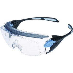 【ポイント10倍】ミドリ安全 小顔用タイプ保護メガネ オーバーグラス VS-303F ブルー VS-303F-BL 【DIY 工具 TRUSCO トラスコ 】【おしゃれ おすすめ】[CB99]