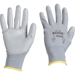 【ポイント10倍】アンセル ウレタン背抜手袋 エッジ 48-129 グレー Mサイズ 48-129-8 【DIY 工具 TRUSCO トラスコ 】【おしゃれ おすすめ】[CB99]