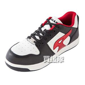 AIR WALK 軽量プロテクティブスニーカー ローカット ブラック×レッド 26.0cm AW-600 [カラー:ブラック×レッド] 【安全靴 作業靴 作業安全靴 安全シューズ セーフティスニーカー セーフティーシュ
