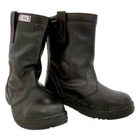おたふく手袋 半長靴(踏抜き防止鋼板入) 28.0cm JW-777 [サイズ:28.0cm] 【鋼鉄製先芯 JIS規格S級 保護具 環境 安全 用品 安全靴 セーフティ 天然ゴム】【おしゃれ おすすめ】[CB99]