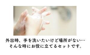 【送料無料】お出かけ除菌セット不織布マスク50枚/キレイキレイ除菌ウェットシート10枚2個/オーガニックハンドジェル60ml保湿成分配合アルコール配合