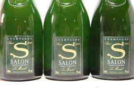 【送料無料】1983年 シャンパーニュ サロン ブラン ド ブラン 750ml Salon Cuvee 'S' Le Mesnil Blanc de Blancs Brut希少なシャンパン/泡/お取り寄せ/シャンパン/ワイン/ギフト/贈り物/プレゼント