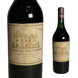 1965年 Chateau Haut Brion Chateau Haut-Brion Pessac-Leognan シャトー オーブリオン 750ml フランス ボルドー 赤ワイン飲み比べ 家飲み ギフト 贈答