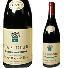 1976年 コート・ド・ニュイ・ヴィラージュ, ピエール・ブレ 1976 Cotes de Nuits Villages, Pierre Bouree