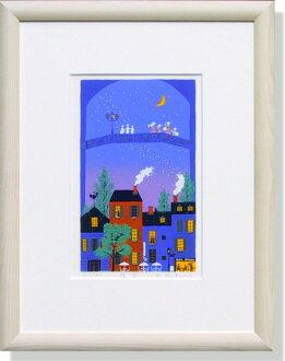 吉冈浩太郎、夜空(绘画、版画)