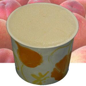 カップアイス アイスクリーム ジェラート 桃のアイスクリーム  やさしいモモの味 トロッとした高級フルーツの食感 魁ジェラートアイスクリーム
