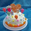 送料無料 バースデーアイスケーキ ドラえもんローソク付き ラムネ味 お誕生日アイスケーキ お誕生日プレゼント 孫誕生…