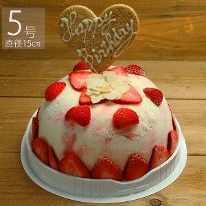 苺のミルフィーユアイスケーキ