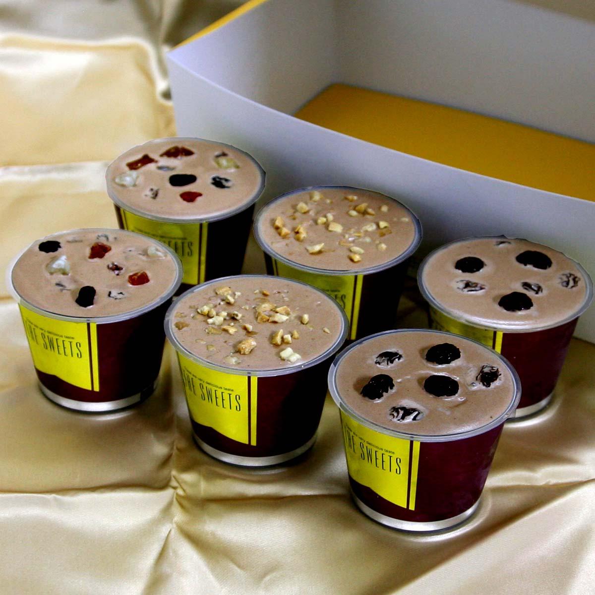 ウイスキー入り大人のチョコレートジェラートセット(3種類、6個入り) 送料無料 ウィスキー入りの大人の味 贈答品 お中元 お歳暮 プレゼント ギフト カップアイスセット 詰め合わせ 返礼用 アイスクリーム ジェラート