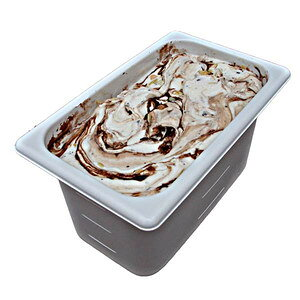 チャッキーモンキー 業務用アイスクリーム バナナのアイスにナッツなどのトッピング 古き良きアメリカの味 家庭用 ギフトでも可 イベント模擬店でも可 容量4リットル デッシャ