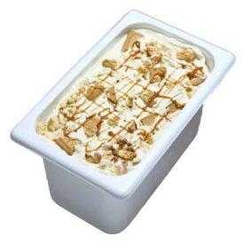 アイスクリーム 業務用 キャラメルクッキー4L 業務用アイスクリーム キャラメルクッキー 家庭用 ギフトでも可 イベント模擬店でも可 容量4リットル デッシャーで40個分 宅配便 アイスクリーム 魁ジェラート