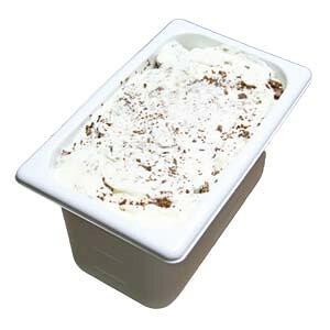 アイスクリーム 業務用 ミルクチョコクランチ 4L 業務用アイスクリーム ミルクジェラートにチョコクランチの歯ざわり 家庭用 ギフト イベント模擬店 容量4リットル デッシャーで40個分 アイ