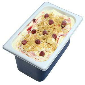 木いちごのミルフィーユ 業務用アイスクリーム 木いちごの甘さと酸っぱさ 家庭用 ギフトでも可 イベント模擬店でも可 容量4リットル デッシャーで40個分 宅配便 アイスクリー
