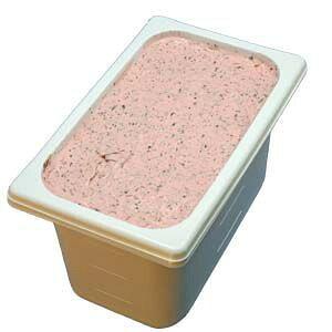 いちごチョコチップ 業務用アイスクリーム 苺のアイスの中につぶつぶチョコ 家庭用 ギフトでも可 イベント模擬店でも可 容量4リットル デッシャーで40個分 宅配便 アイスクリ