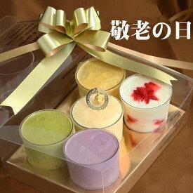 敬老の日 ギフトプレゼント お菓子 アイスクリーム5個入りセット 敬老の日スイーツギフト 送料無料