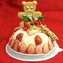 小さめ アイスケーキ 4号 苺のミルフィーユ クリスマス アイスケーキ クリスマスケーキ 2人〜4人用 クリスマスケーキ2020 予約 アイスケーキ 子供 アイスクリームケーキ