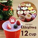 クリスマス アイス 送料無料 カップ12個入り クリスマスケーキ 2019 アイスセット クリスマスギフト アイスクリーム …