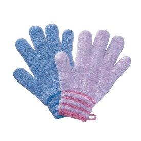 オカモト 入浴用 手袋 やさしい手 1双入 ミトン お風呂 からだ洗い
