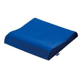 【車いす用クッション】ヴィスコフロート 低反発ウェーブクッション マルゼン ネイビーブルー 40×40×4〜7cm VT816