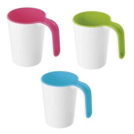 【介護食器】リベロカップ 容量:270ml 全3色 (リッチェル) ピンク/ブルー/グリーン ポリプロピレン製 電子レンジ・食洗器使用可