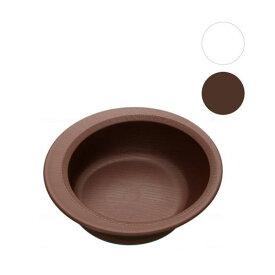 木目調介護食器 すくいやすいボウル(NPLS1)スケーター 介助 自助具 自活用具 軽量 割れにくい クリーム ブラウン 樹脂製 スープ皿 お椀 滑り止め付き 【cp9280】