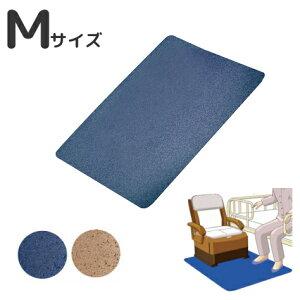 ポータブルトイレ用 消臭すべり止めマット ゼオシーター Mサイズ 60×80cm ブラウン・ブルー (シンエイテクノ) 【敬老の日】