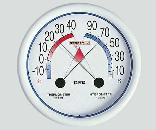タニタ 食中毒注意ゾーン付温湿度計 8-6393-01