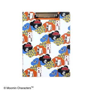 ムーミン クリップボード KUMOホワイト ST-ZM0149 セントレディス【MOOMIN・キャラクター雑貨・事務用品・文具・バインダー・A4サイズ・内ポケットあり・かわいい・おしゃれ】