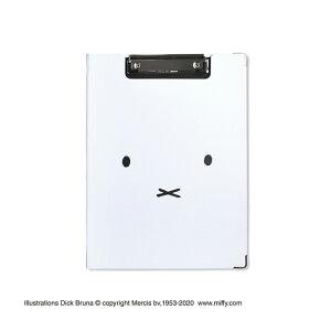 ミッフィー クリップボード Faceホワイト ST-ZMF0037 セントレディス【MOOMIN・キャラクター雑貨・事務用品・文具・バインダー・A4サイズ・内ポケットあり・かわいい・おしゃれ】