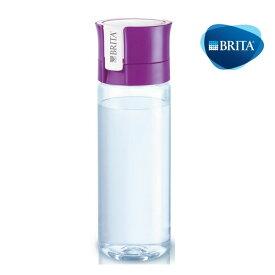 ブリタ フィル&ゴー パープル 0.6L カートリッジ1個付き【BRITA 携帯用・ブリタ 水筒・ブリタ 携帯型浄水ボトル・ブリタ 浄水ポット 持ち運び・BRITA fill&go・BRITA フィル&ゴー】
