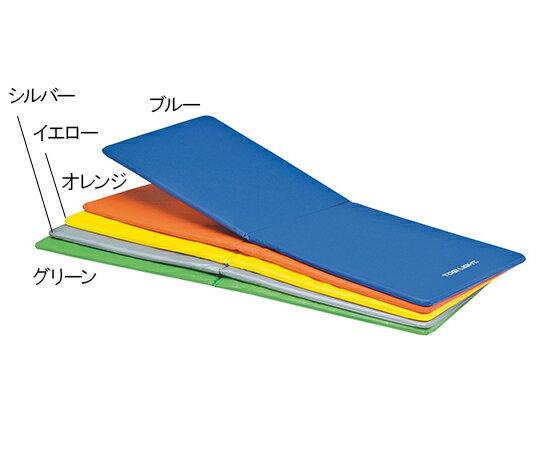 トーエイライト エクササイズマット 二つ折りタイプ ブルー 7-1981-01【エクササイズグッズ・ヨガマット・ダイエットマット】