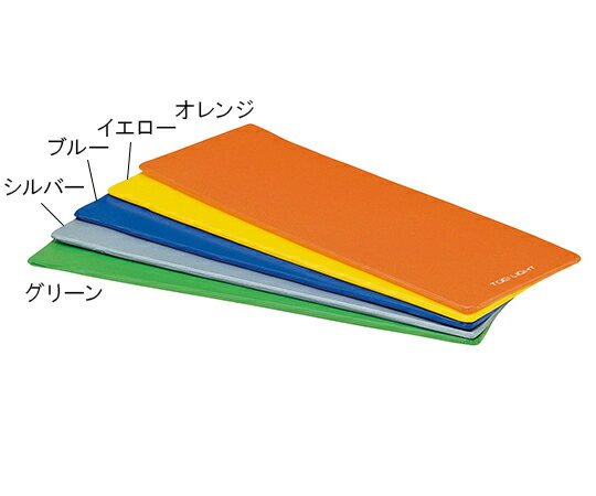 トーエイライト エクササイズマット 薄型タイプ グリーン 7-1980-02【エクササイズグッズ・ヨガマット・ダイエットマット】