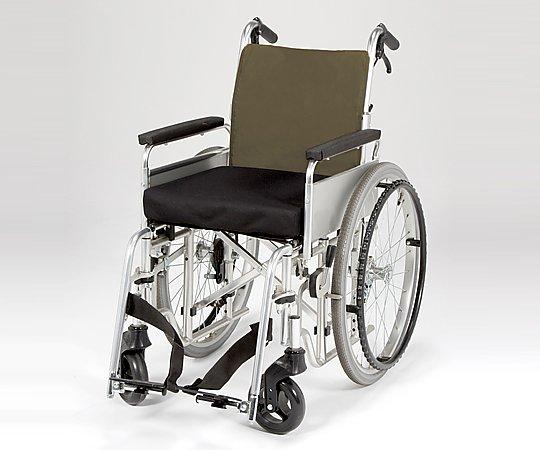 ナビス 車いすクッション用防水カバー M 8-2737-01【車椅子用シートカバー・車椅子カバー・車いすカバー・車椅子オプション・車椅子クッションカバー】