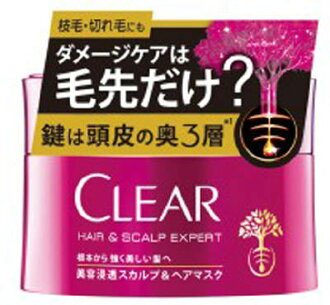 联合利华·日本清除美容渗入头皮&毛口罩170g(4902111738000)(头发护理·毛口罩、美容)