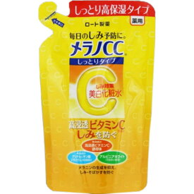 【あわせ買い2999円以上で送料無料】ロート メラノCC 薬用しみ対策 美白化粧水 しっとりタイプ つめかえ用 170ml