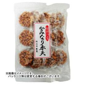 【送料無料・まとめ買い×15個セット】辻井製菓 かみなり奉天 15枚入