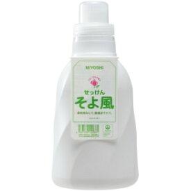 【あわせ買い2999円以上で送料無料】ミヨシ石鹸 そよ風 液体せっけん ボトル 1100ml