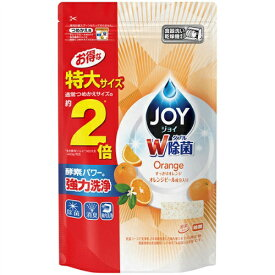 【あわせ買い2999円以上で送料無料】P&G JOY ジョイ 食洗機用 オレンジピール 成分入り 詰替 特大サイズ 930g