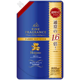 【あわせ買い2999円以上で送料無料】ファーファ ファインフレグランス オム  800ml 詰替 fafa fine fragrance 着るフレグランス(4902135325705)※お1人様最大5点まで