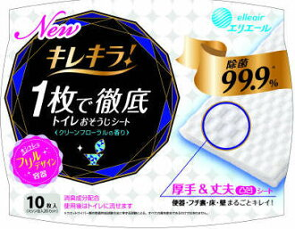 Daio seishi elleair Chile Kira! Toilet spare body 10 sheets (toilet cleaner) (4902011734638)