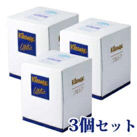 【あわせ買い2999円以上で送料無料】日本製紙クレシア クリネックスティシュー ウルトラドレッサーサイズ 210枚×3個セット