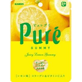 【あわせ買い2999円以上で送料無料】カンロ ピュレグミ レモン×6個セット (4901351058626)