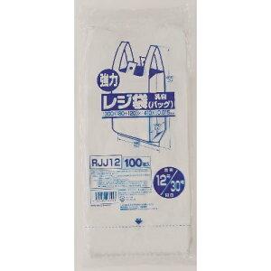 【あわせ買い2999円以上で送料無料】ジャパックス レジ袋 レギュラー 西日本 30号 100枚入り(RJJ-12)