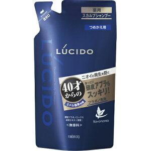 マンダムルシード薬用スカルプデオシャンプーつめかえ用380ml(40才からのニオイ対策シャンプー無香料詰め替え)