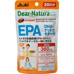 [朝日集團食品]dianachurasutairu EPA×DHA、納豆激酶80粒
