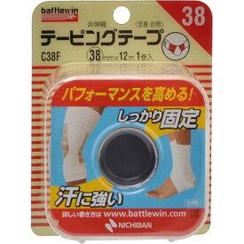 【あわせ買い2999円以上で送料無料】【ニチバン】バトルウィン テーピングテープ非伸縮タイプ C38F 足首・肘用 1巻入