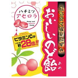 【あわせ買い2999円以上で送料無料】日進医療器 おいしいのど飴 ハチミツアセロラ 70g