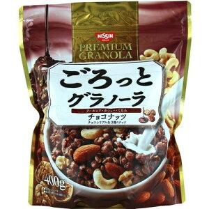 【送料込・まとめ買い×18個セット】日清シスコ ごろっとグラノーラ チョコナッツ 400g