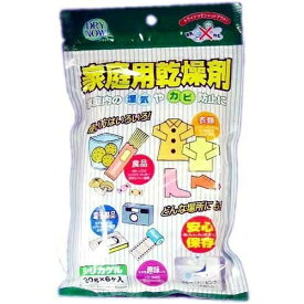 【あわせ買い2999円以上で送料無料】新越化成工業 ドライナウ 家庭用乾燥剤 6包入